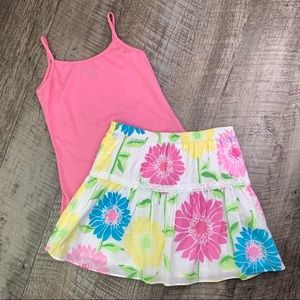 Lilly Pulitzer White Label Skirt Sz 7
